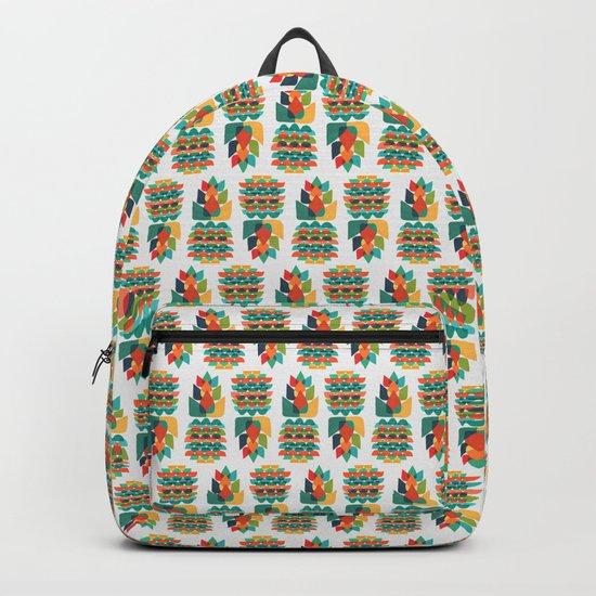 Colorful Whimsical Ananas Backpack