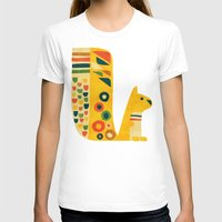 squirrel T-shirts featuring Century Squirrel by Picomodi