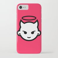 emoji iPhone & iPod Cases featuring Devious emoji by hello Malcolm