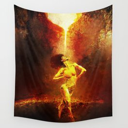 Forged Not Fabricated Wall Tapestry