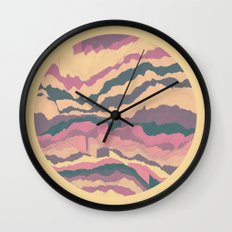 TOPOGRAPHY 010 Wall Clock