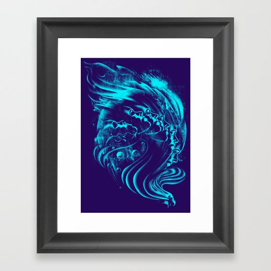 Firebird Framed Art Print