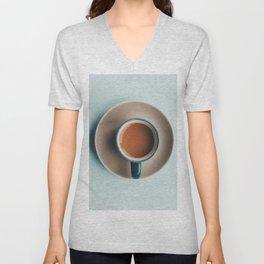 Minimalist Cup of Tea Unisex V-Neck