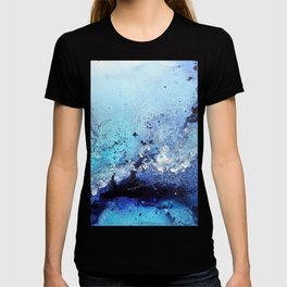 Bermuda Paradise Mixed Media Painting T-shirt