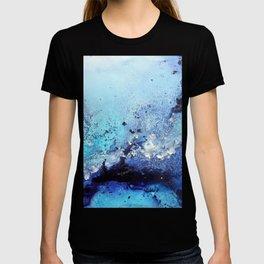 Bermuda Paradise Mixed Media Painting T-shirt