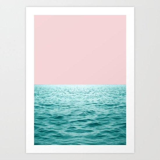 First ocean Art Print