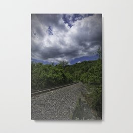West Virginia Railroad Metal Print