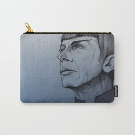 Live Long and Prosper - Blue Carry-All Pouch