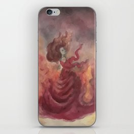 Elemental Witch - Fire iPhone Skin