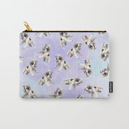 Pastel Space Pups Carry-All Pouch