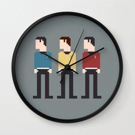 Star Trek 8-Bit Wall Clock