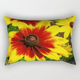 Flower | Flowers | Gaillardia Flower Garden | Nature Rectangular Pillow