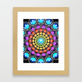 Interdimensional Shift Framed Art Print