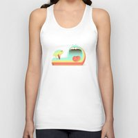 fear Tank Tops featuring Fear by Laima St