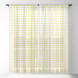 Happy Birthday Sheer Curtain