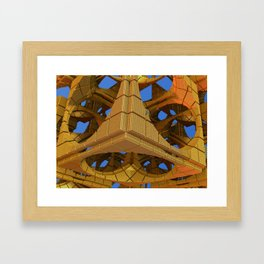 New Cubism Framed Art Print