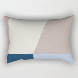 Abstract Geometric Minimal Abstract Design Rectangular Pillow