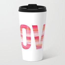 Love Sunrise Metal Travel Mug