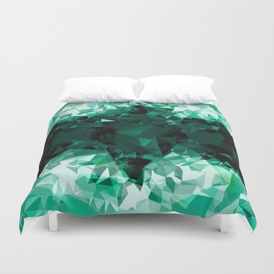green hell Duvet Cover