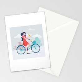 Mai and Bella  Stationery Cards