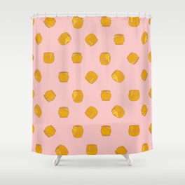 Summer Honey Shower Curtain