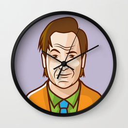 Saul Goodman Wall Clock
