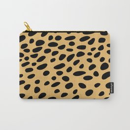 Brown Cheetah Animal Patern Carry-All Pouch