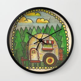 Camper Wall Clock