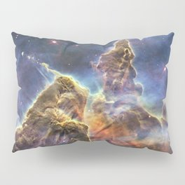 carina carina and her fuzzy psychedelia | space 012 Pillow Sham