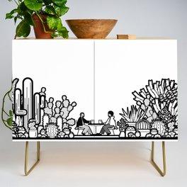 Chai and Cacti II Credenza