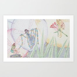 fairy jewel Art Print