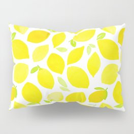 Beautiful Lemon Pattern Pillow Sham