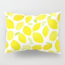 Beautiful Lemon Pattern Pillow Sham