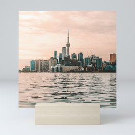 Canada Photography - Toronto In The Evening By The Water Mini Art Print