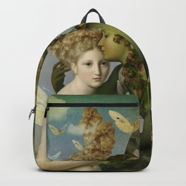 """The body, the soul and the garden of love"" Backpack"