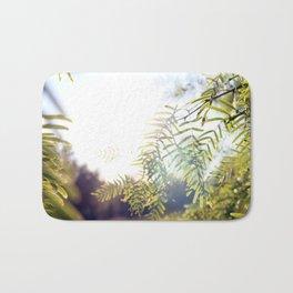 Leaves & Light Bath Mat