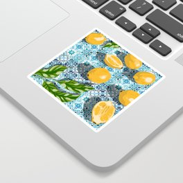 Sweet just isn't as sweet without the sour #painting Sticker