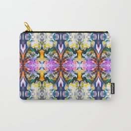 Abstract mineral mosaic Carry-All Pouch