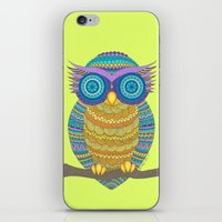 henna iPhone & iPod Skins featuring Henna Owl by haleyivers
