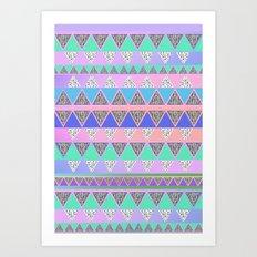 CANDIE CANDIE Art Print