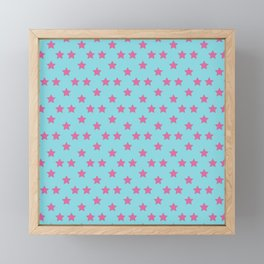 Johnny Joestar Pattern Framed Mini Art Print