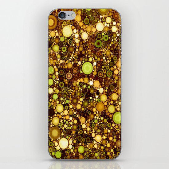 :: Solid Gold :: iPhone Skin
