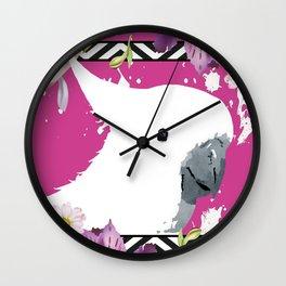 Sulphur-crested Cockatoo Wall Clock
