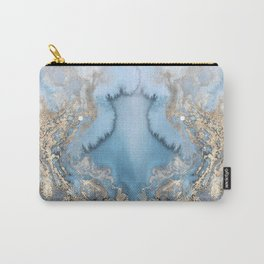 GOLD CLOUDS MARBLE Carry-All Pouch