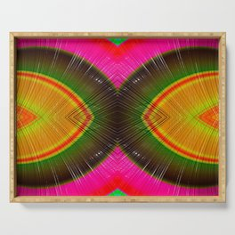 Rainbow In 3D #Society6 #Buyart #colors Serving Tray
