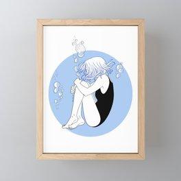 Sleep Paralysis Framed Mini Art Print