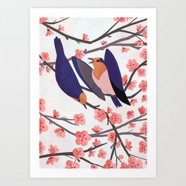 Pacific Swallow  Art Print