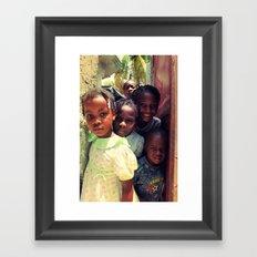 Haiti.  Framed Art Print