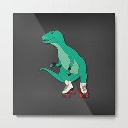 Tyrollersaurus Rex Metal Print