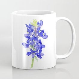 Bluebonnet Watercolor Coffee Mug